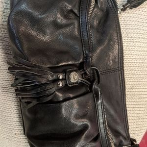 Makowsky crossbody leather bag